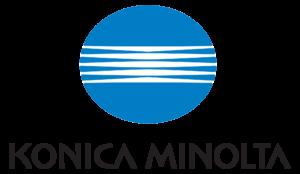 logo couleur Konica Minolta