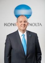 Olaf Lorenz, directeur général de la division marketing international de Konica Minolta